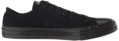 Low All Sneaker Converse Canvas Taylor Star Chuck Top Black Black ZwqPPX