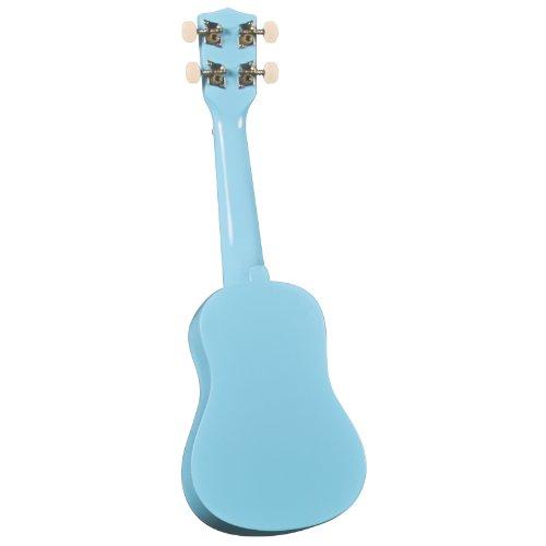 Diamond Head DU-106 Rainbow Soprano Ukulele - Light Blue - Image 1