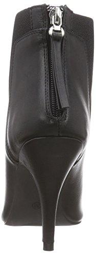 La Strada Schwarze Leder-Look Stiefeletten - botas de material sintético mujer negro - Schwarz (1901 - pu black)