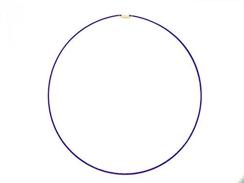 Tour de cou Violet en acier câblé