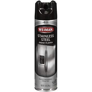 Stainless Steel Aerosol Cleaner by Weiman