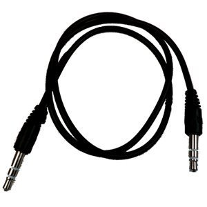 RND Auxiliary Audio Cable for Samsung Smartphones (2.5 feet/black), Best Gadgets