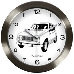 Sonstige-Reloj de pared R4L embellecedores dibujo no & B PM RENAULT