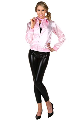 Pink Ladies Jacket Grease Costume Jacket Officially Licensed X-Large]()