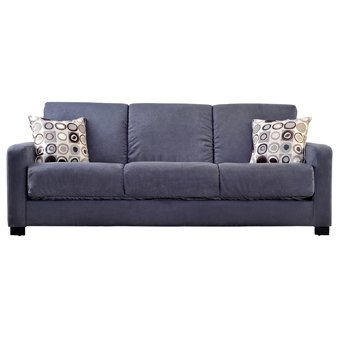handy-living-tahoe-convert-a-couch-in-gray-microfiber-with-black-geometric-circle-pillows