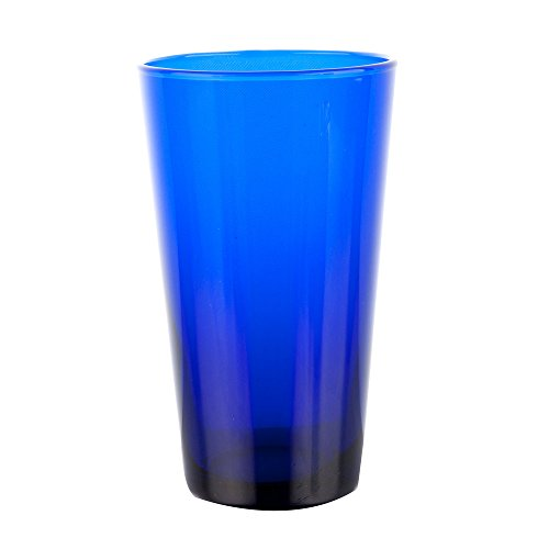 - 8 Pack - 17 oz. Cobalt Blue Cooler - Standard Glassware w/ Pourer
