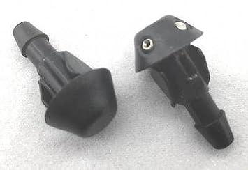 Aftermarket BR14 X 2 arandela Jet limpiaparabrisas boquilla tubería manguera x 2 par BR14 X 2: Amazon.es: Coche y moto