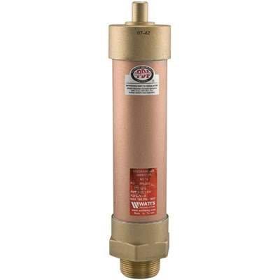 "Watts (15-1/2) Mini Water Hammer Arrestor - Pressure Regulator 1/2"" NPT NSF Certified - Lead Free"