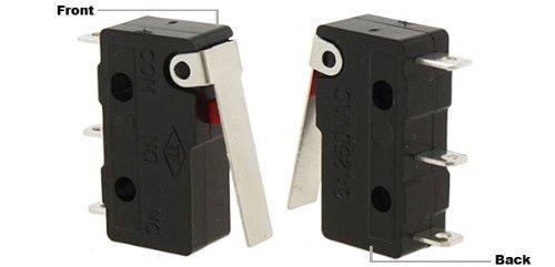Final de Carrera de Micro eDealMax Largo brazo de palanca subminiatura SPDT de acción rápida 3A Nueva: Amazon.com: Industrial & Scientific