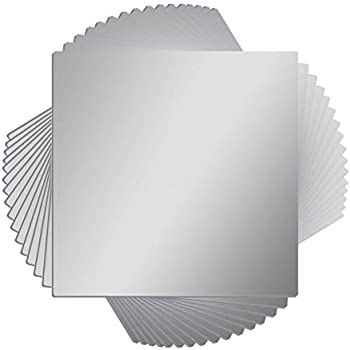 Amazon com: 12 x 12 Acrylic Mirror Sheet by Laser Creations