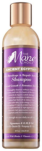 THE MANE CHOICE Ancient Egyptian Anti-Breakage & Repair Antidote Shampoo - Hydrates and Strengthens Your Hair While Promoting Growth and Retention (8 Ounces / 236 Milliliters) (Halo Moisturizing Shampoo)