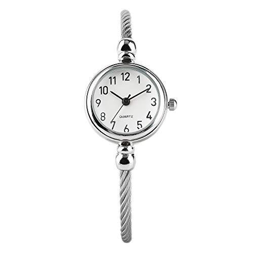 Luxury Women 's Watch, Fashion Dress Slim Bracelet Bangles Wristwatch, Analog Watch for Girls Ladies
