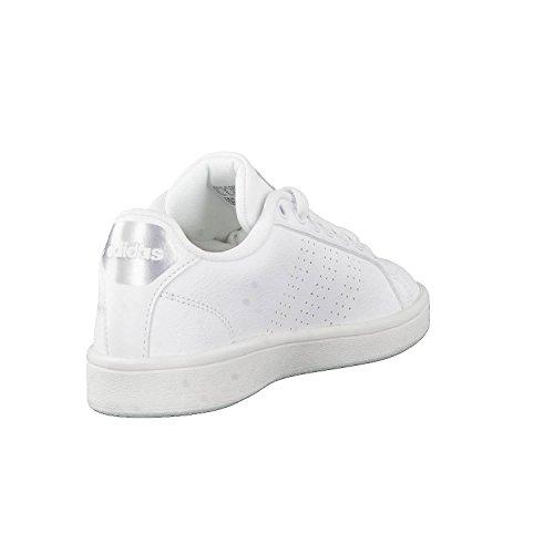 Cf De W Cl Adidas Blanc Advantage Cass Fitness Chaussures Femme XRdfqw