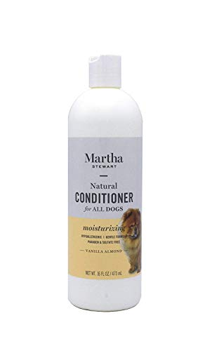Martha Stewart Moisturizing Conditioner for Dogs | Natural Puppy and Dog Conditioner For Dry Itchy Skin, 16 Ounces