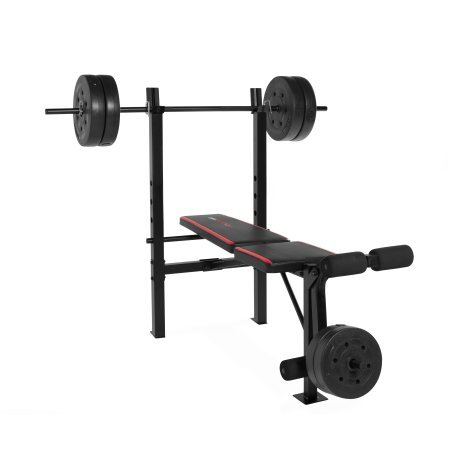 CAP Barbell Weight Benches w/ 100-Pound Weight Set (CAP Barbell FMS-CS100 Standard Bench)