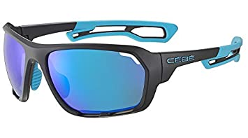 Cébé Upshift Gafas de Sol Adultos Unisex Matt Black Blue ...