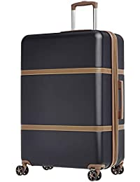 Vienna Spinner Luggage Expandable Suitcase with Wheels
