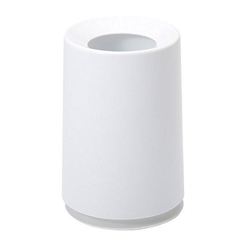 イデアコ ゴミ箱 チューブラー ホワイト 6L