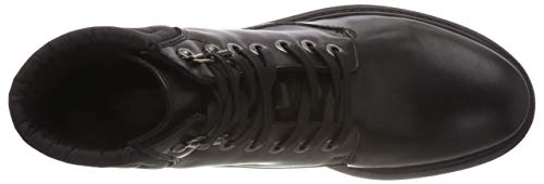 Bottes ABX Geox C D Motardes Asheely Femme C9999 Black Noir NP wwXFq