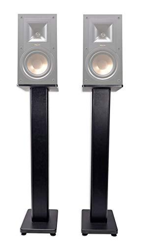 """Pair 36"""" Bookshelf Speaker Stands for Klipsch R-15PM Bookshelf Speakers"""
