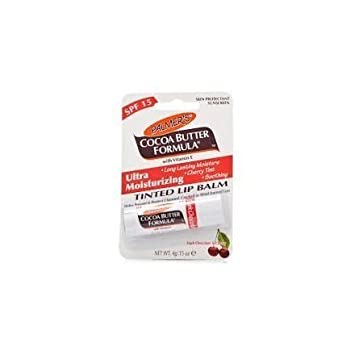 Palmers Cocoa Butter Ultra Moisturising Tinted Dark Chocolate And Cherry Lip Balm 4g x3 by Palmers