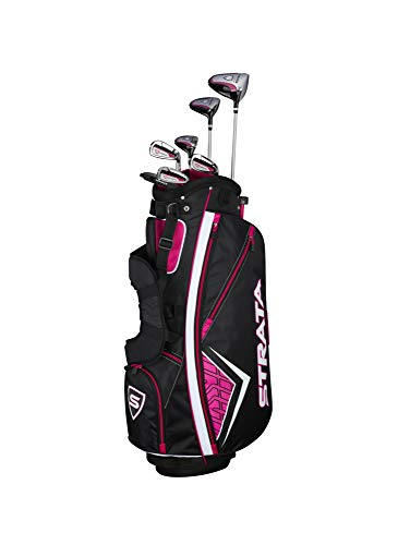 Callaway Golf 2019 Women's Strata Complete 12 Piece Package Set (Left Hand, Graphite)