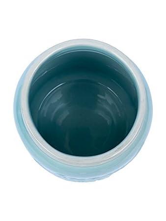 Grande Taille Haut de 7 Adapt/é Lave-Vaisselle Bleu Turquoise Comfify Pot Mason Grande Ouverture Support /à Ustensile Cruche Organisatrice D/écorative d/'/Équipement de Cuisine