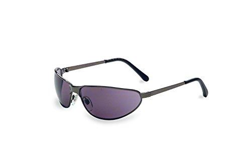 Uvex S2451 Tomcat Safety Eyewear, Gunmetal Frame, Gray Hardcoat Lens