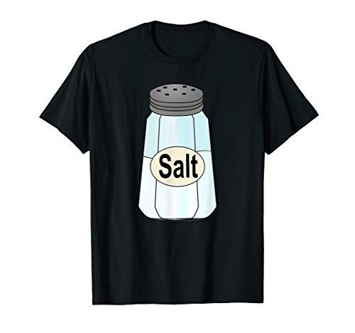 Salt Shaker Halloween Costume T-Shirt Couples Matching -