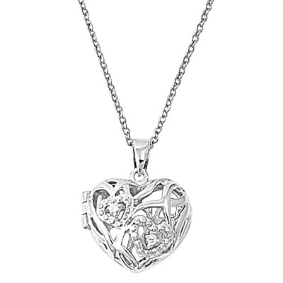 Inspired By Tiffany Zirconia Necklace - 4