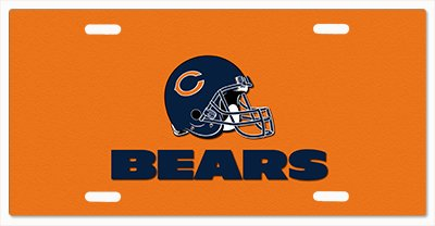 - Chicago Bears - The Run v19 Vanity License Plate