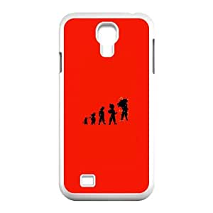 Samsung Galaxy S4 9500 Cell Phone Case White Goku Evolutions JNR2056685