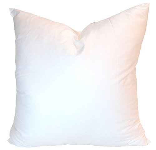Pillowflex Synthetic Down Pillow Insert for Sham Aka Faux / Alternative (28 Inch by 28 Inch)