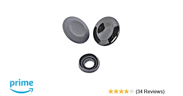 Matte Black Compatible with Audi A4 A5 A6 Q5 Q7 S5 S6 Control Center Button Cover Car Navigation MMI Joystick Knob Repair Kit with 2 Seal Rings