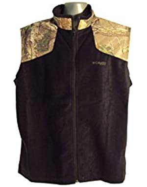 Men's Sharptail Heat Vest Black/Camo Medium