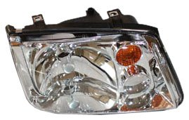02 vw jetta headlight assembly - 6