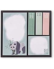 Keskin Color Victoria's Journals Hard Cover Sticker - Panda