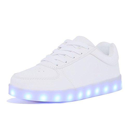 LED Light Up Shoes 11 Colors Flashing USB Charging Flashing