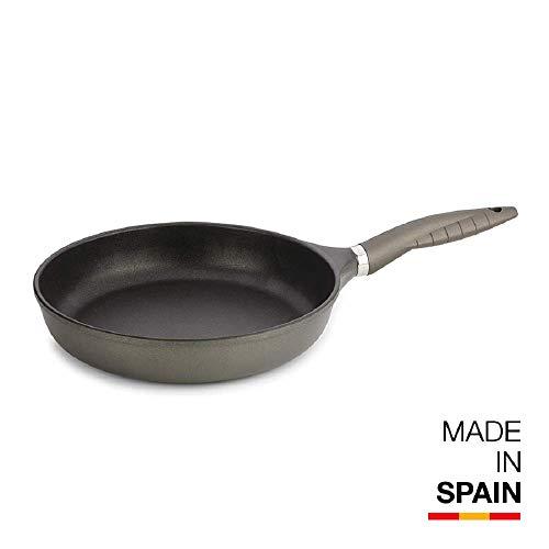 Valira Tecnoform - Sartén Premium de 28 cm hecha en España, aluminio fundido con antiadherente reforzado, no apta para inducción: Amazon.es: Hogar