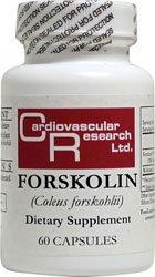 Forskoline 60 Caps par la recherche cardiovasculaire