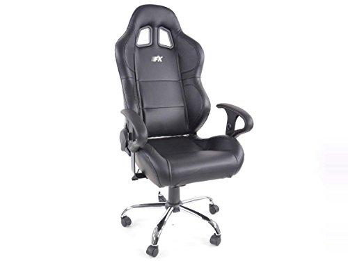 Racing Seat - Silla de oficina gaming Phoenix cuero sintetico negro