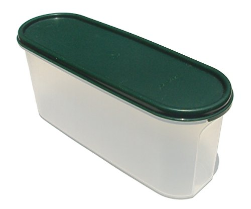 Tupperware Modular Mate Super Oval 2 with Hunter Green Seal