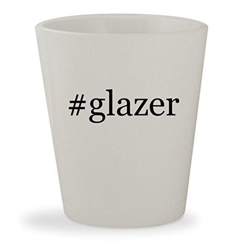 Price comparison product image #glazer - White Hashtag Ceramic 1.5oz Shot Glass