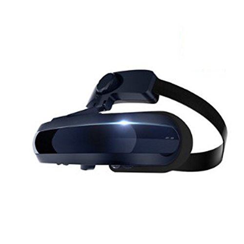 With Eye Protection VR Headset 3D Glasses 360 HD Viewing Immersive Virtual Reality Helmet Video Game Controller For Iphone 7 6 6S Plus, HTC And 4.0-6.1 Inch Android And Apple Smartphones PS4 Computer