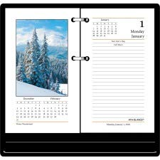 AAGE41750 - At-A-Glance Photographic Desk Calendar Refill