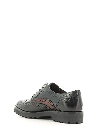 Casual Zapatos Mujeres 5419 Negro Mally FCB0n1