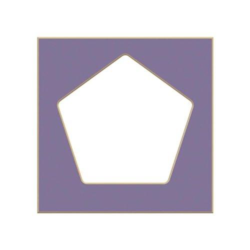 RooMeez Pod Front Cutout Pentagon/Lovely Lilac & Princess - Cut Out Pentagon