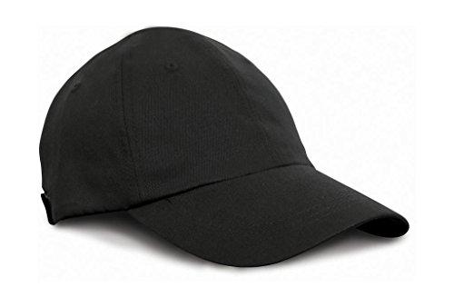 Result Caps Arc Stretch Fit Cap Gorra, color: Black