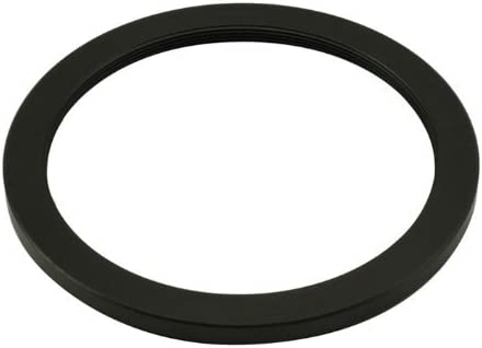 Fotga Black 74mm to 77mm 74-77mm Step Up Filter Ring for DSLR Camera Lens and Neutral Density UV CPL Circular Polarizing Infrared Len Filters