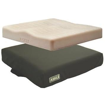 ADL askle almohada visco alova 43 x 47 x 7.5 cm Hasta 110 kg ...